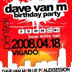 2008.04.18. dave van m birthday party